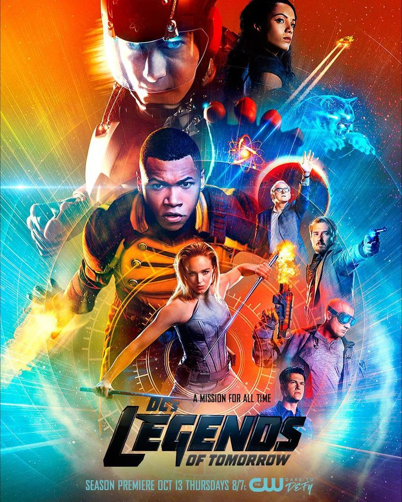 legends of tomorrow season 2 poster