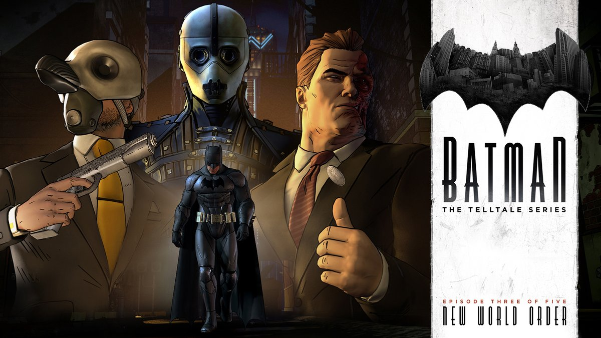 Two-Face Teased in 'Batman: The Telltale Series' Trailer
