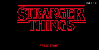 stranger things, stranger things video game, stranger things 8bit