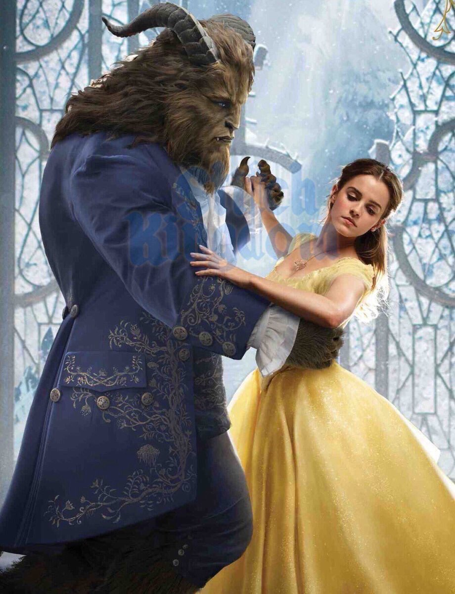 See Emma Watson in New 'Beauty and the Beast' Pics - GeekFeed.com