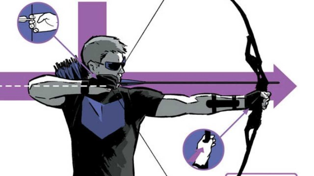 Marvel Comics Hawkeye