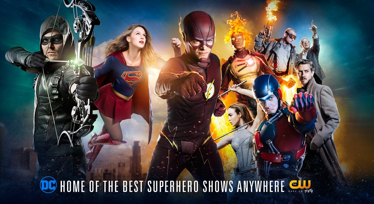 Supergirl Meets Arrowverse Heroes in Crossover Promo