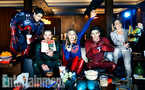 arrow, legends, flash, supergirl gaming