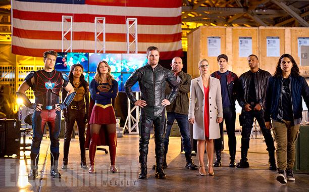 'DC's Legends of Tomorrow' Season 2, Episode 7 - 'Invasion' crossover