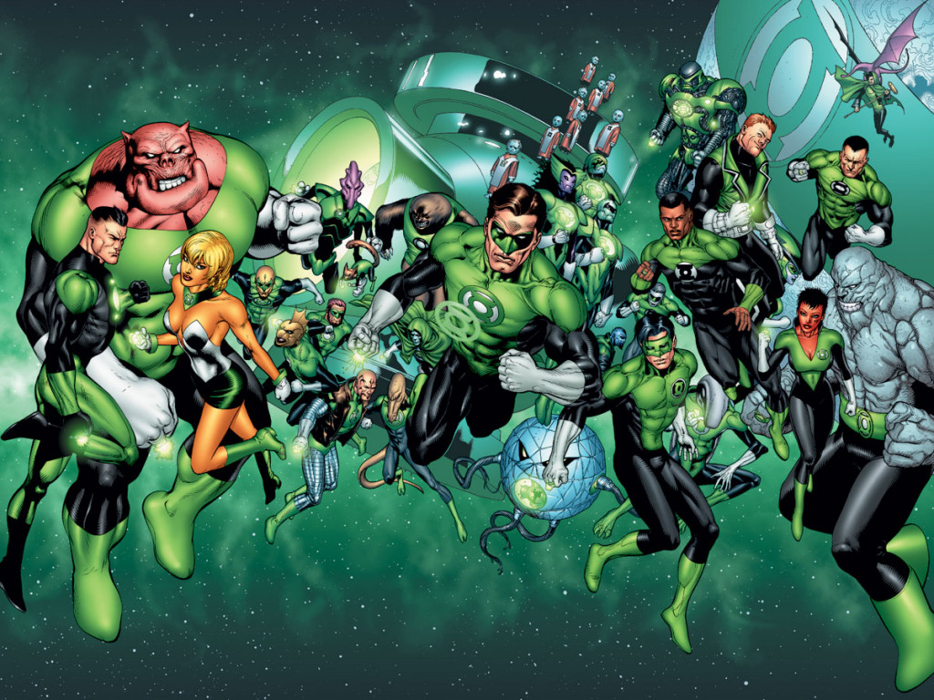 Green Lantern Reportedly Appearing in 'Justice League'