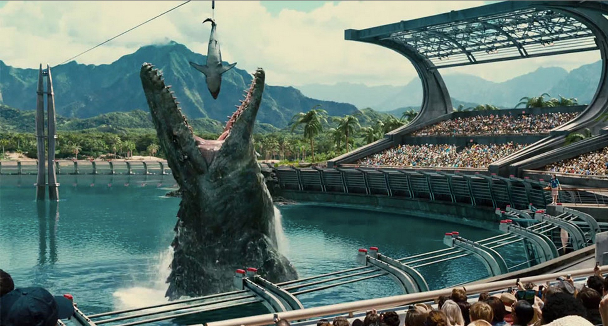 Here's a visual representation of 2018's other summer releases being fed to Jurassic World 2