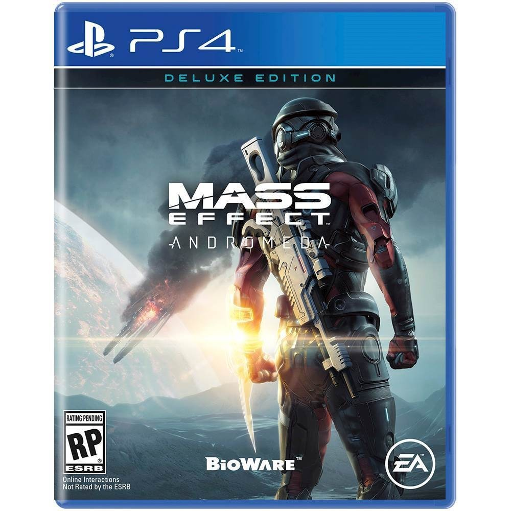 Mass Effect Andromeda box art ps4