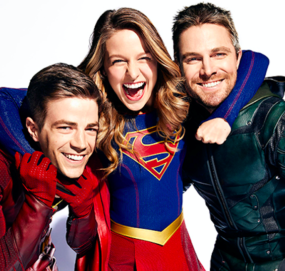 First Look at 4-Night Arrowverse Crossover in New Photos