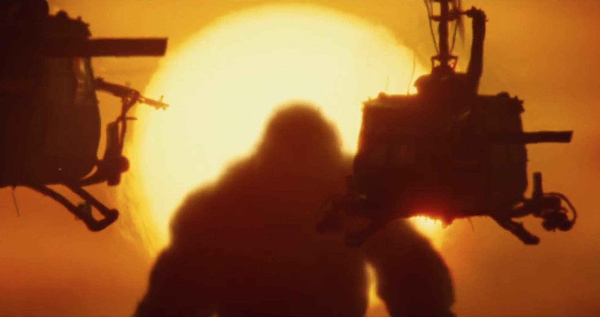 All Hail the King, Baby! The Trailer for 'Kong: Skull Island' is Here