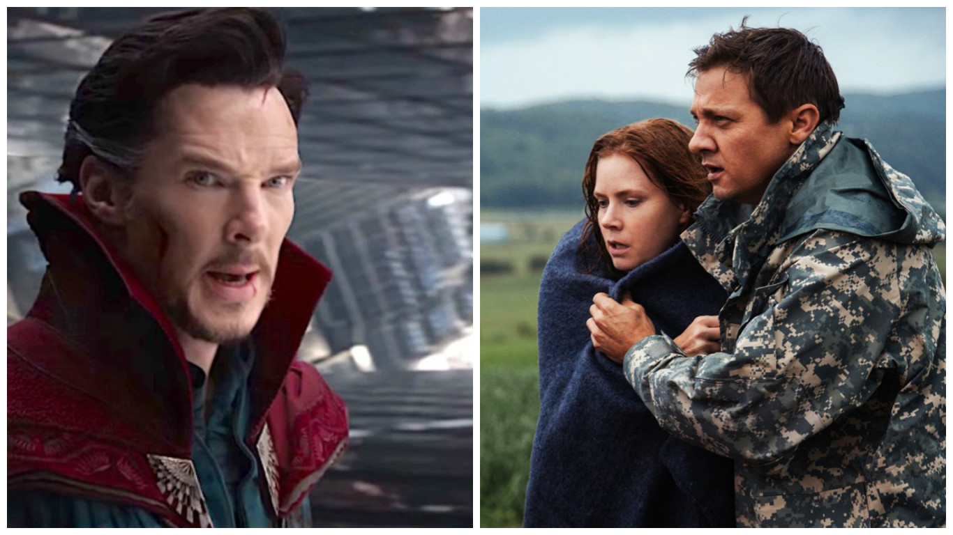 Box Office: 'Doctor Strange' Wins Again; 'Arrival' Strong