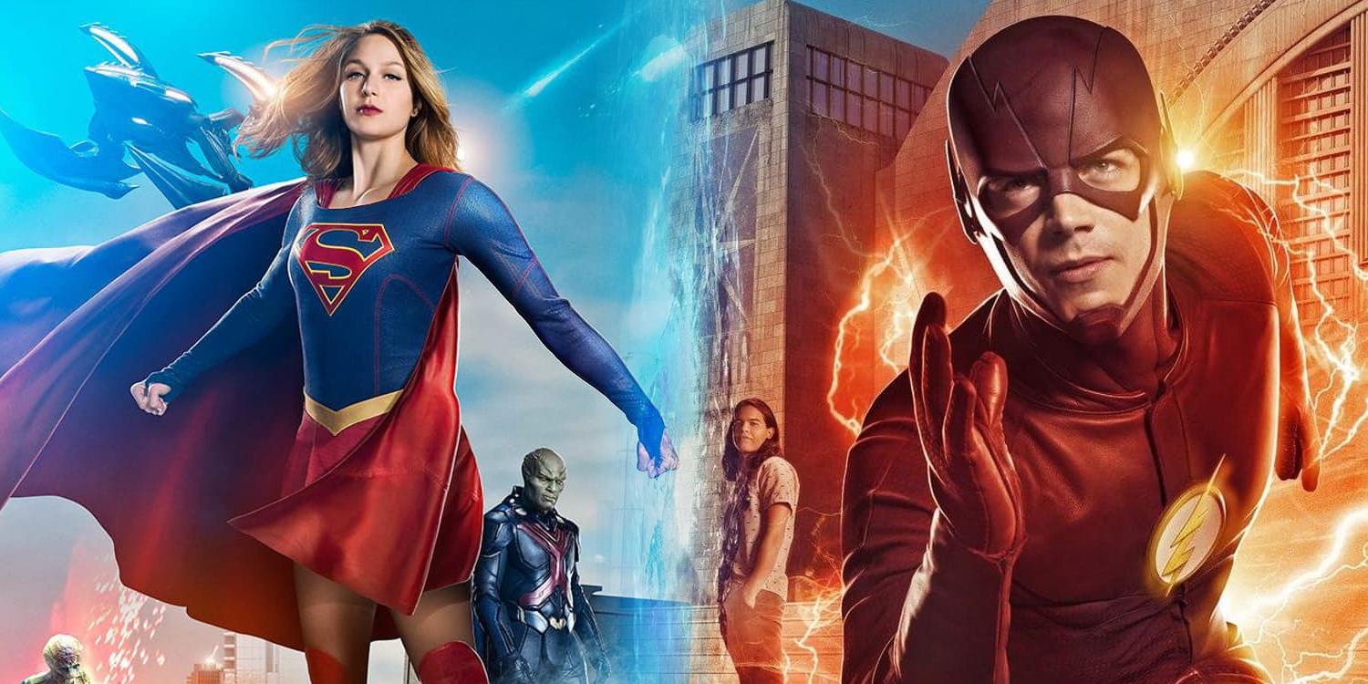 Go Behind The Teams In New Arrowverse 'Heroes vs Aliens' Crossover Featurette