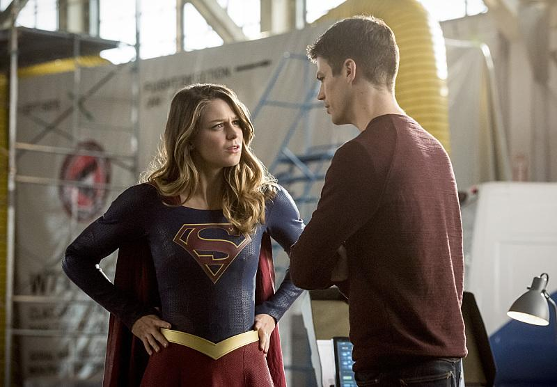 supergirl and flash invasion crossover