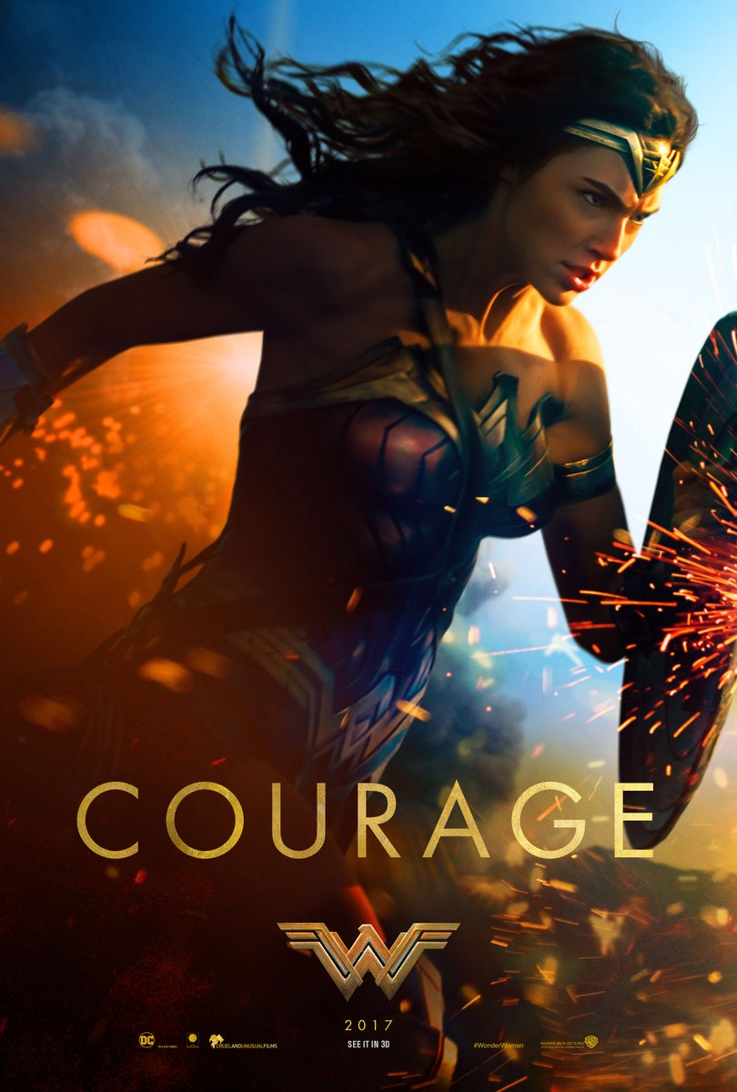 Wonder Woman - Courage