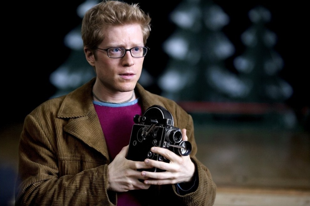 Anthony Rapp in 'Rent' on Broadway