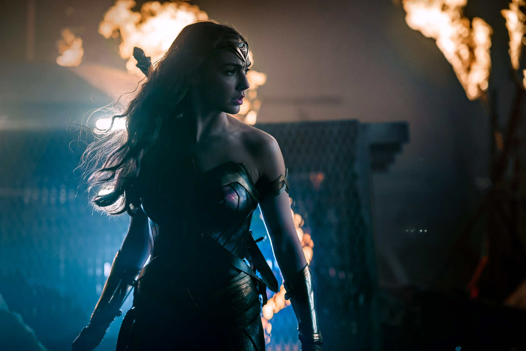 Gal Gadot on Wearing Wonder Woman's Costume the First Time