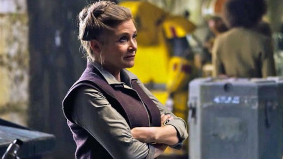 Report: 'Star Wars: The Last Jedi' Undergoing Reshoots Because of Carrie Fisher's Death