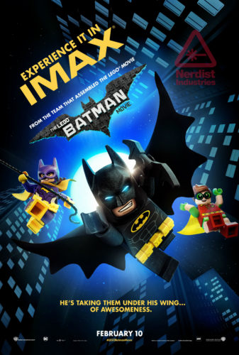 the lego batman movie, the lego movie, warner bros., will arnett, michael cera, batman, dc, the joker, two face, harvey dent, imax