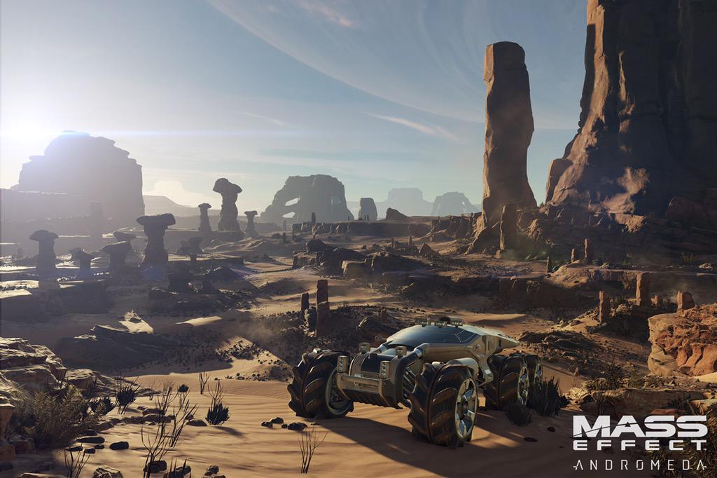 Mass Effect Andromeda nomad