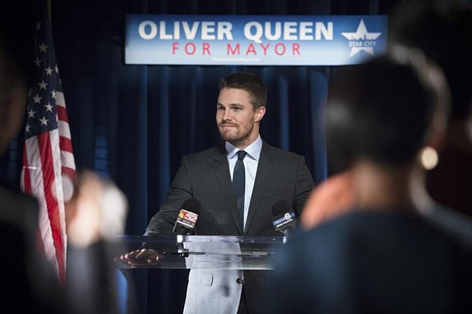 mayor oliver queen