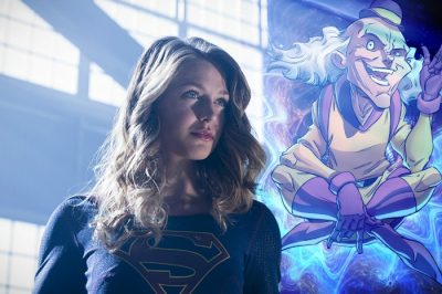 """The Flash -- """"Invasion!"""" -- Image FLA308a_0185b.jpg -- Pictured: Melissa Benoist as Kara/Supergirl -- Photo: Michael Courtney/The CW -- © 2016 The CW Network, LLC. All rights reserved."""