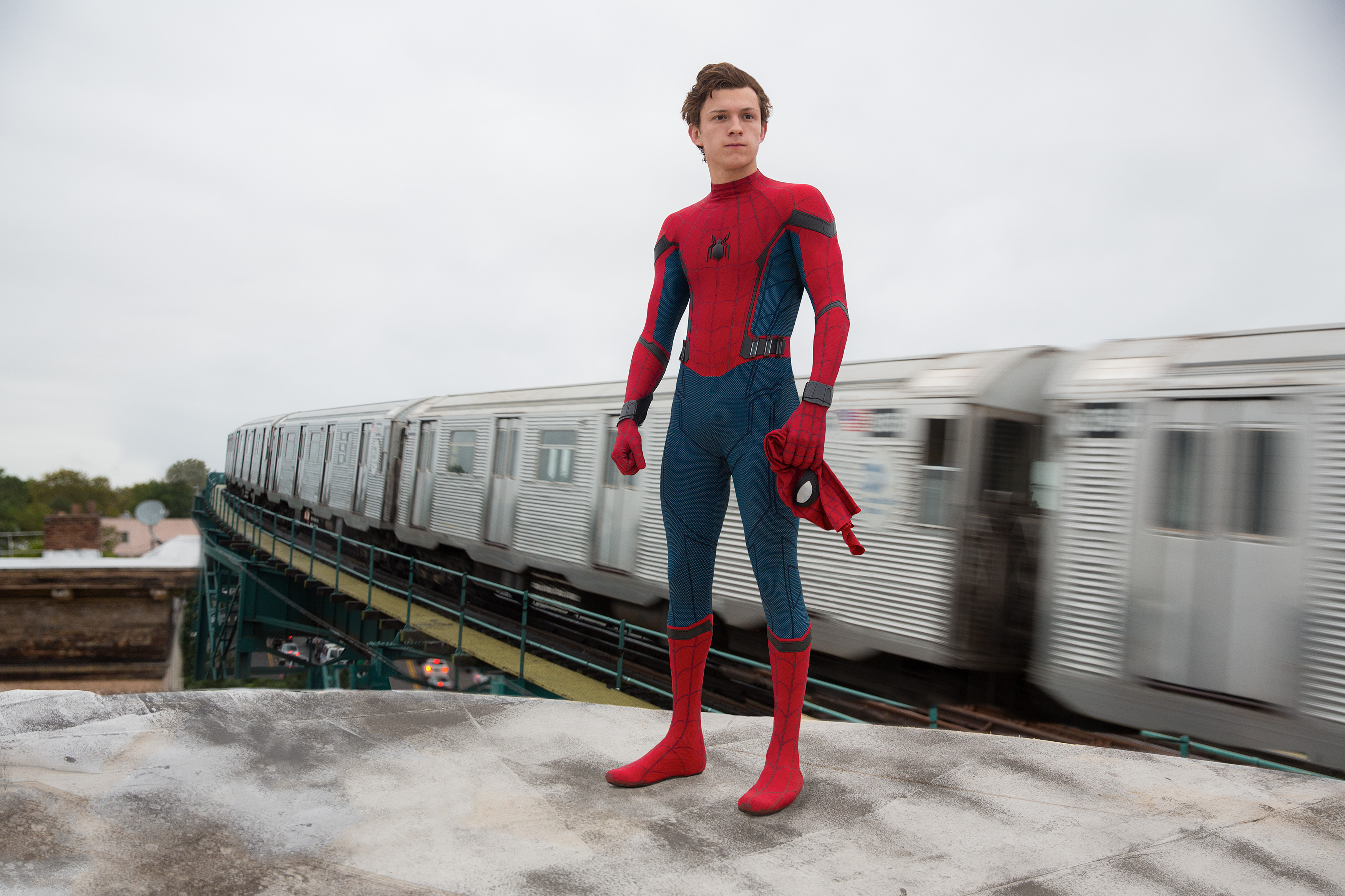 Set Photos from Spider-Man: Far from Home Feature Tom Holland as Peter Parker