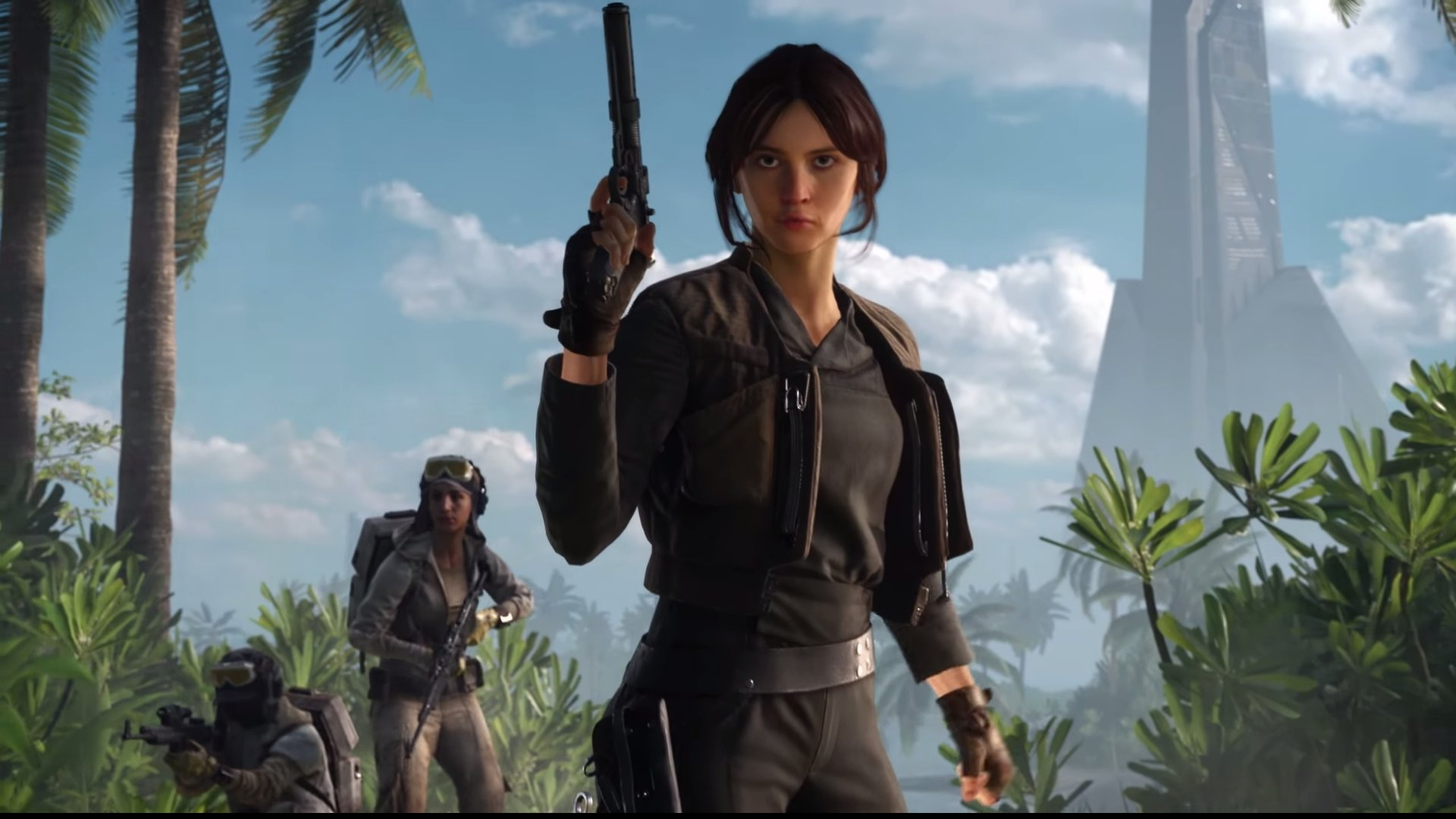 I would totally watch a Star Wars buddy cop show called Jyn and Tonic