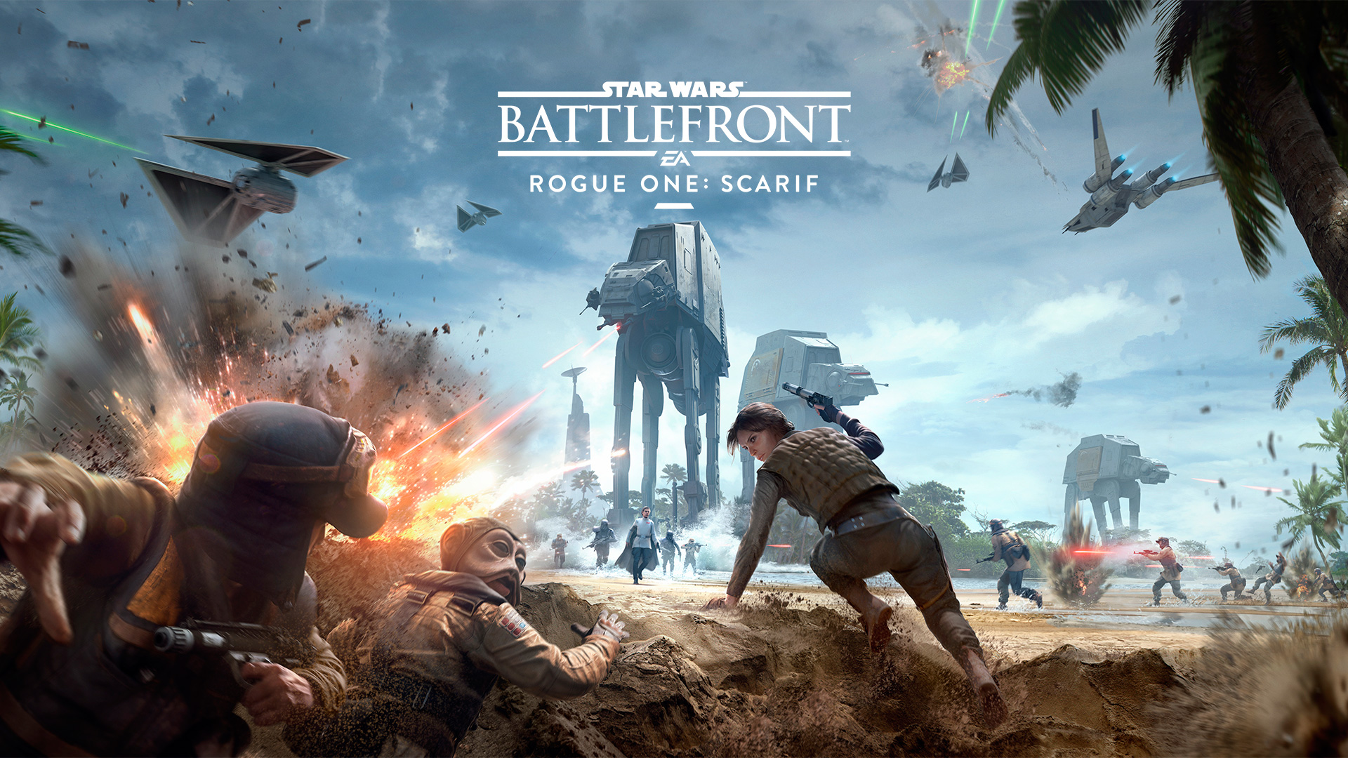 'Star Wars Battlefront: Rogue One: Scarif' – Stays On Target