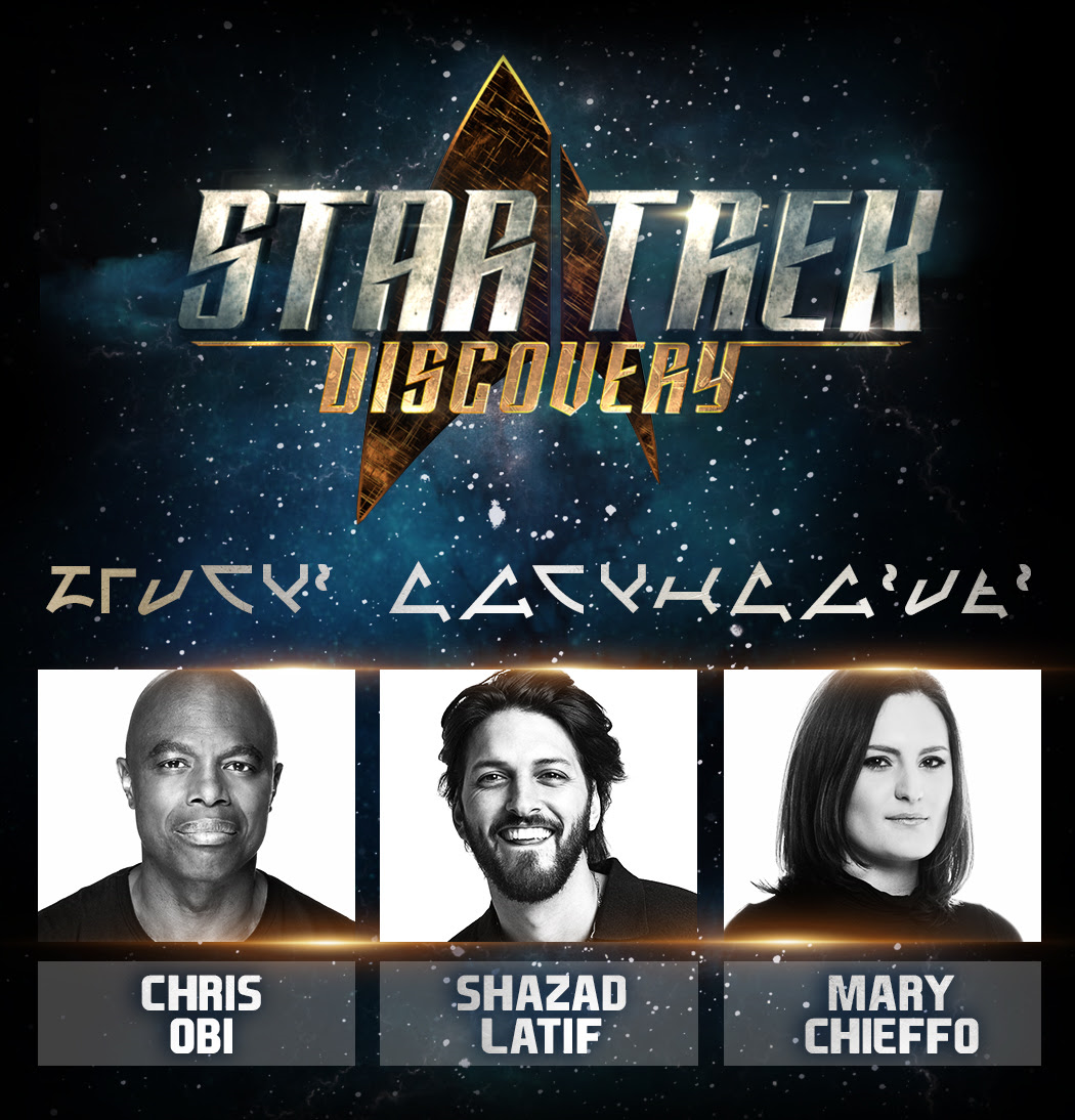 More Cast Announcements for 'Star Trek: Discovery'
