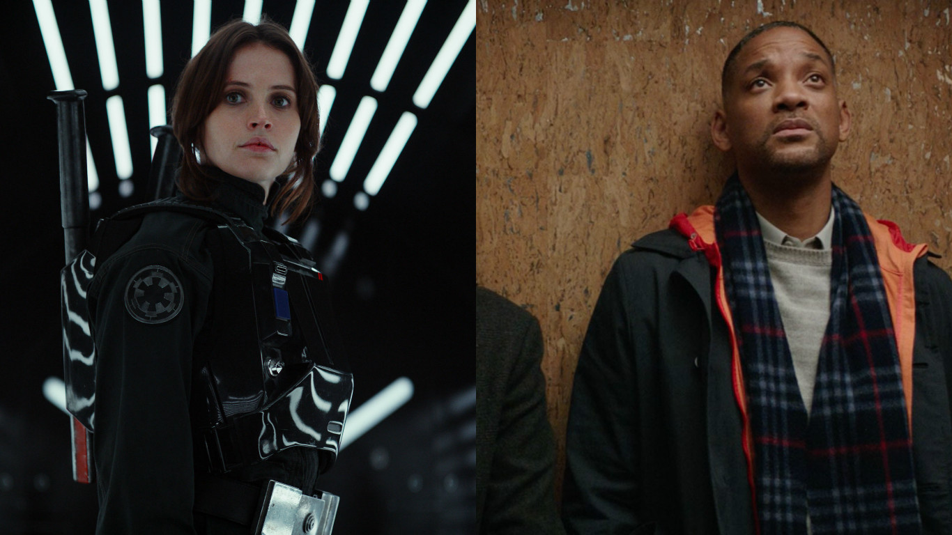 Box Office: 'Rogue One' Rules the Galaxy, Crushes 'Collateral Beauty'