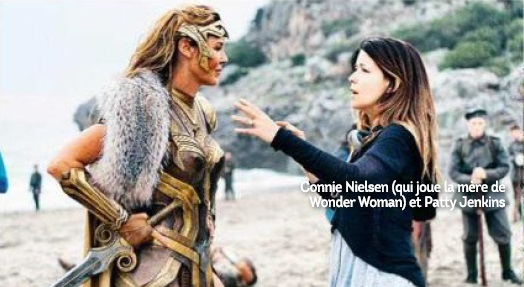 Connie Nielsen and Patty jenkins