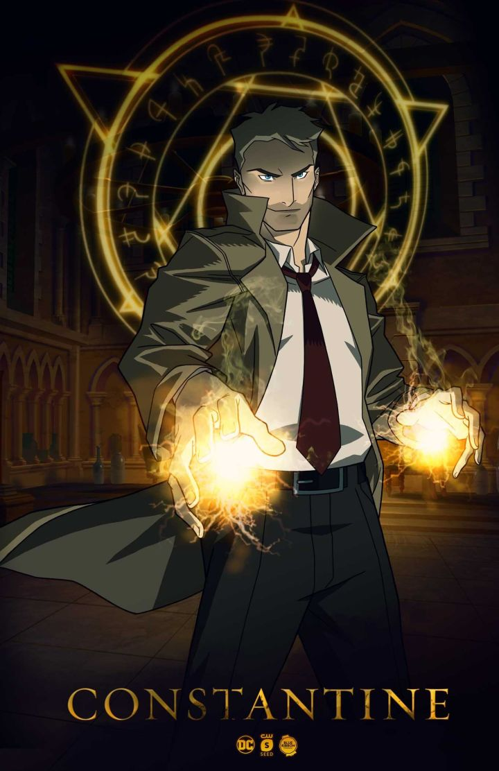 Constantine Animated series key art