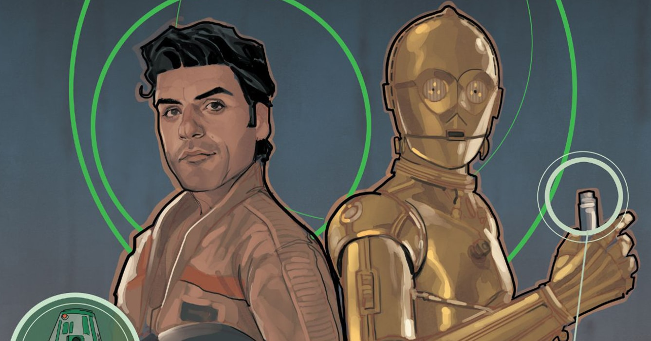 'Poe Dameron' #9: Fun with Poe and 3-PO