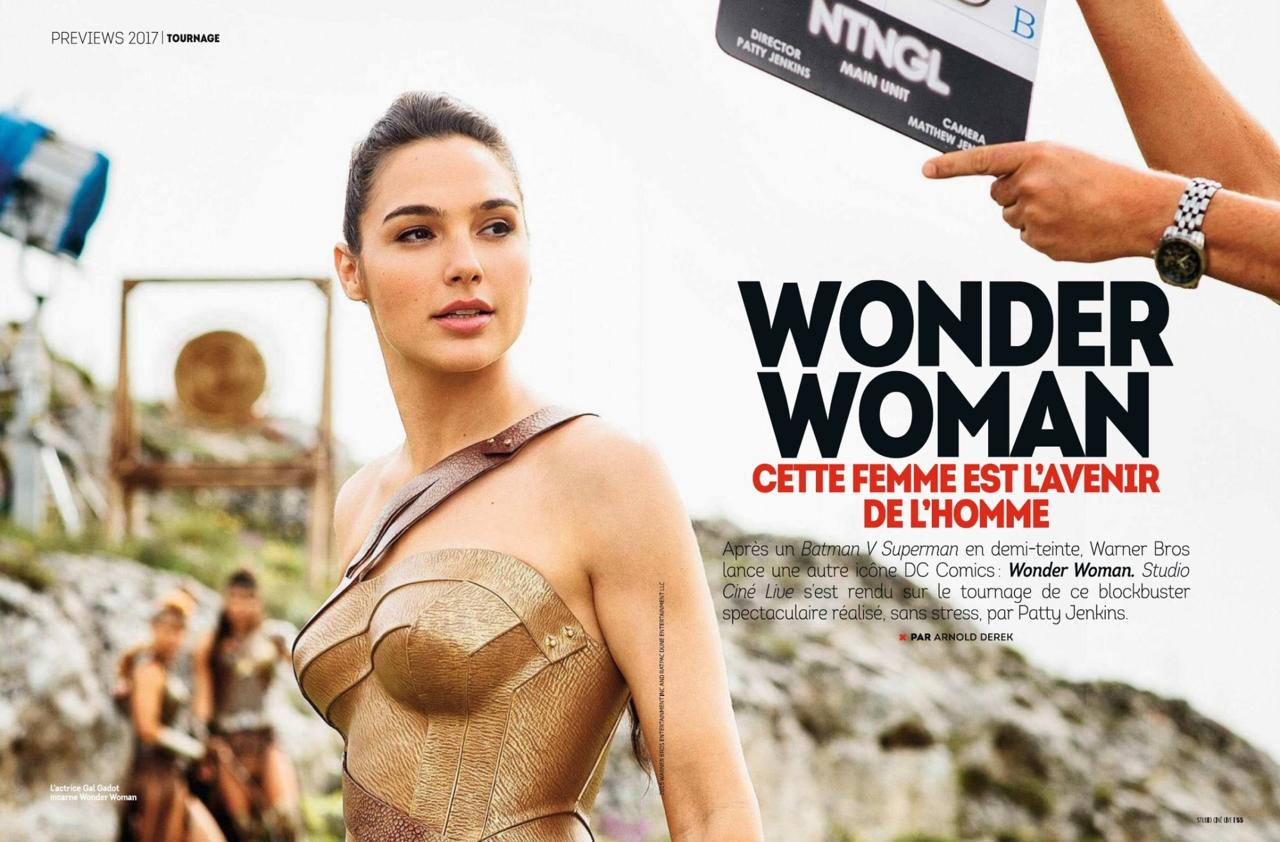 Wonder Woman Studio Cine Live mag.