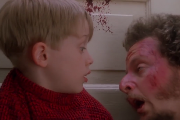 home alone blood