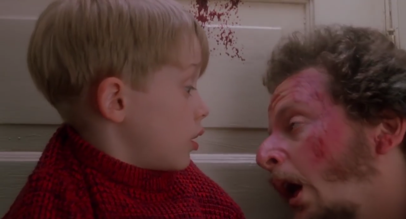 This is What 'Home Alone' Looks Like With Blood