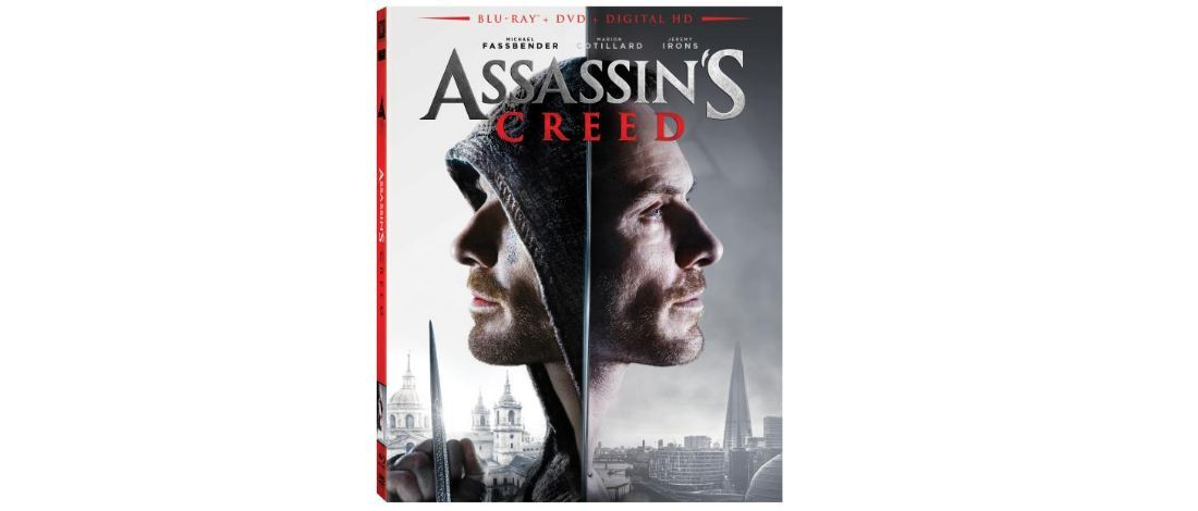 Assassin's Creed film blu-ray