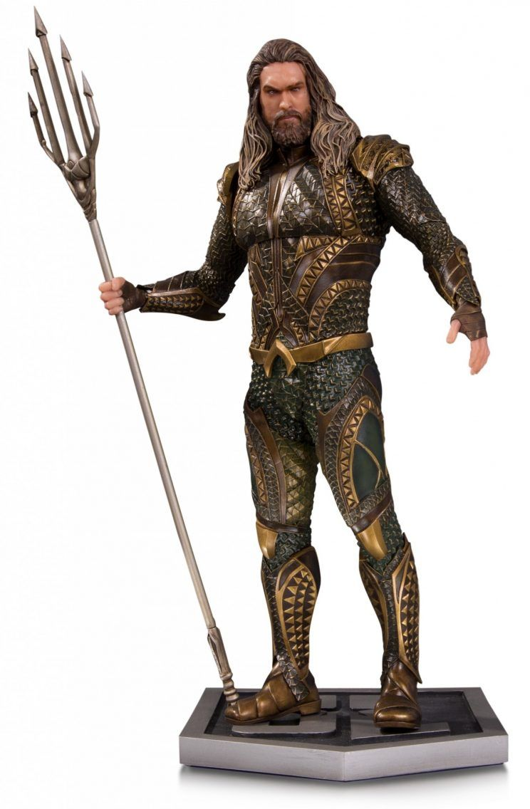 DC Collectibles Justice League statue Aquaman