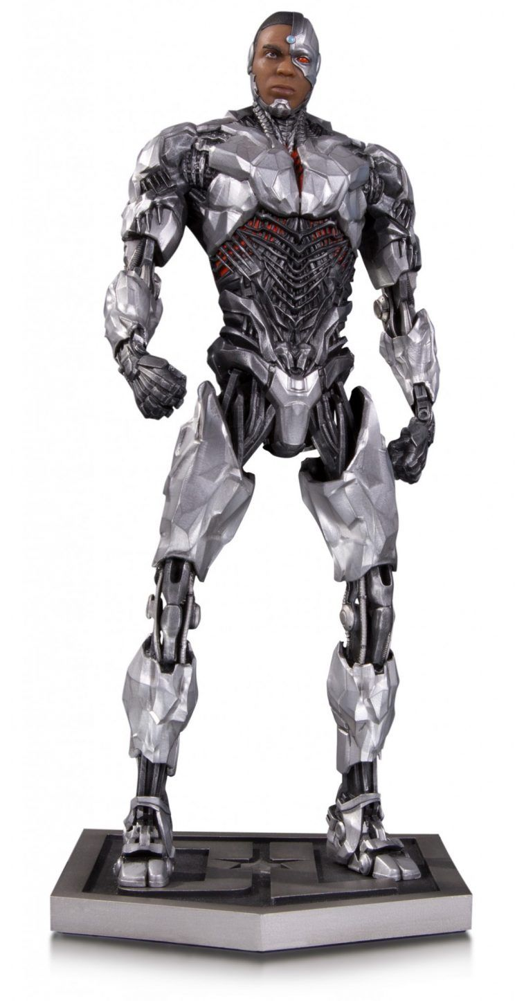 DC Collectibles Justice League statue Cyborg