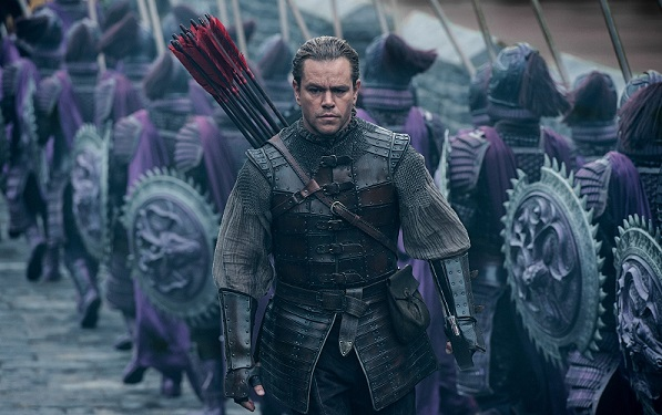Review: 'The Great Wall' is Grand in Size, but Largely Wooden