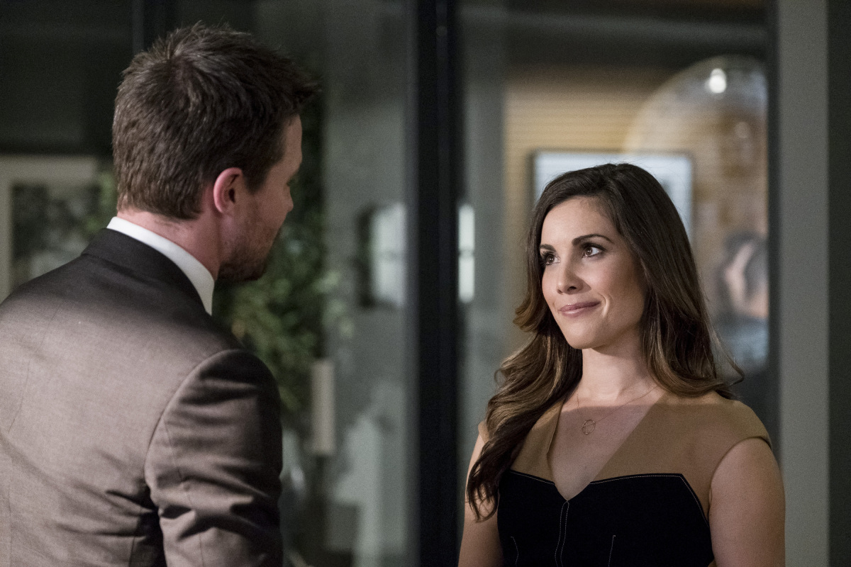 Oliver and Susan Williams in Arrow