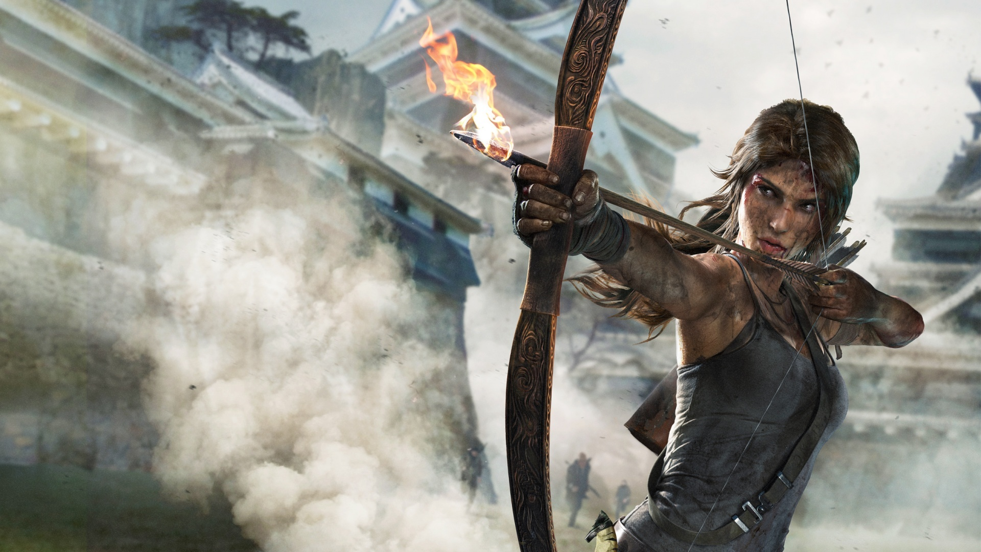 First Look at Alicia Vikander's Lara Croft in 'Tomb Raider' Set Photos