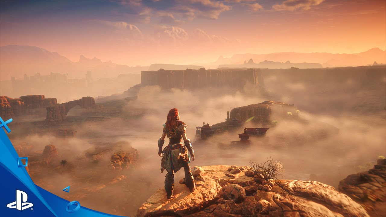 'Horizon Zero Dawn's' Map Might be of 'Skyrim' Proportions