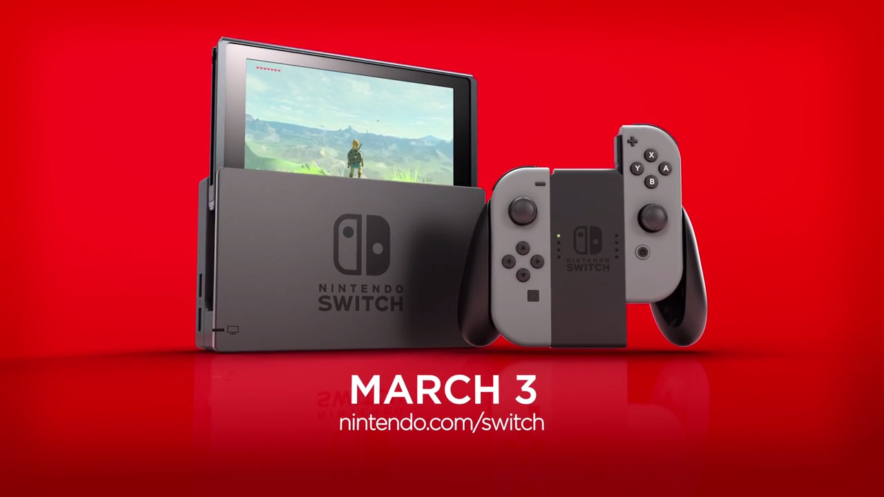 Nintendo Switch Systems Sold Early Were Stolen and Illegally Resold