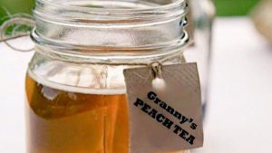 Granny's Peach Tea
