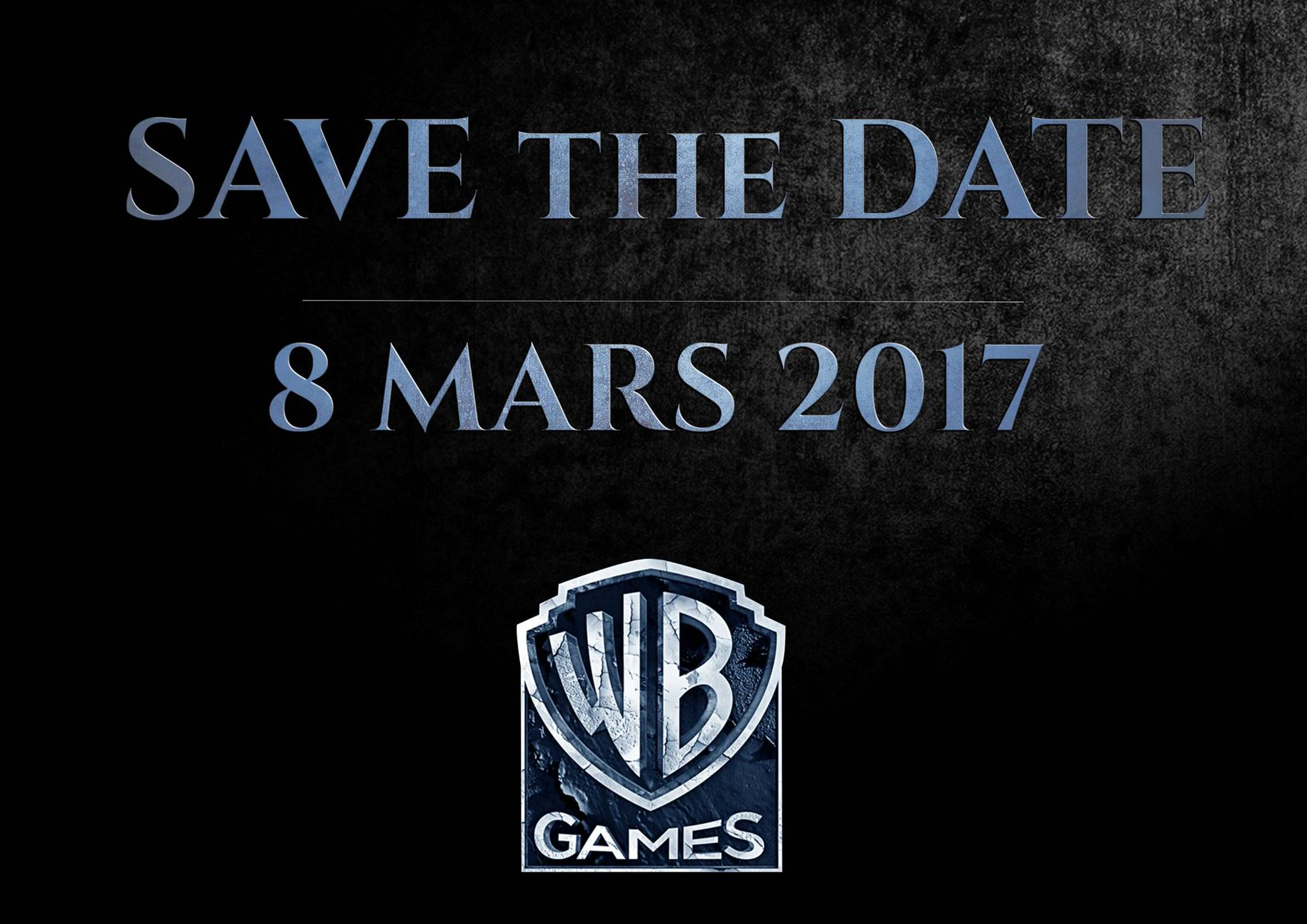 WB Games Teases New Game Reveal