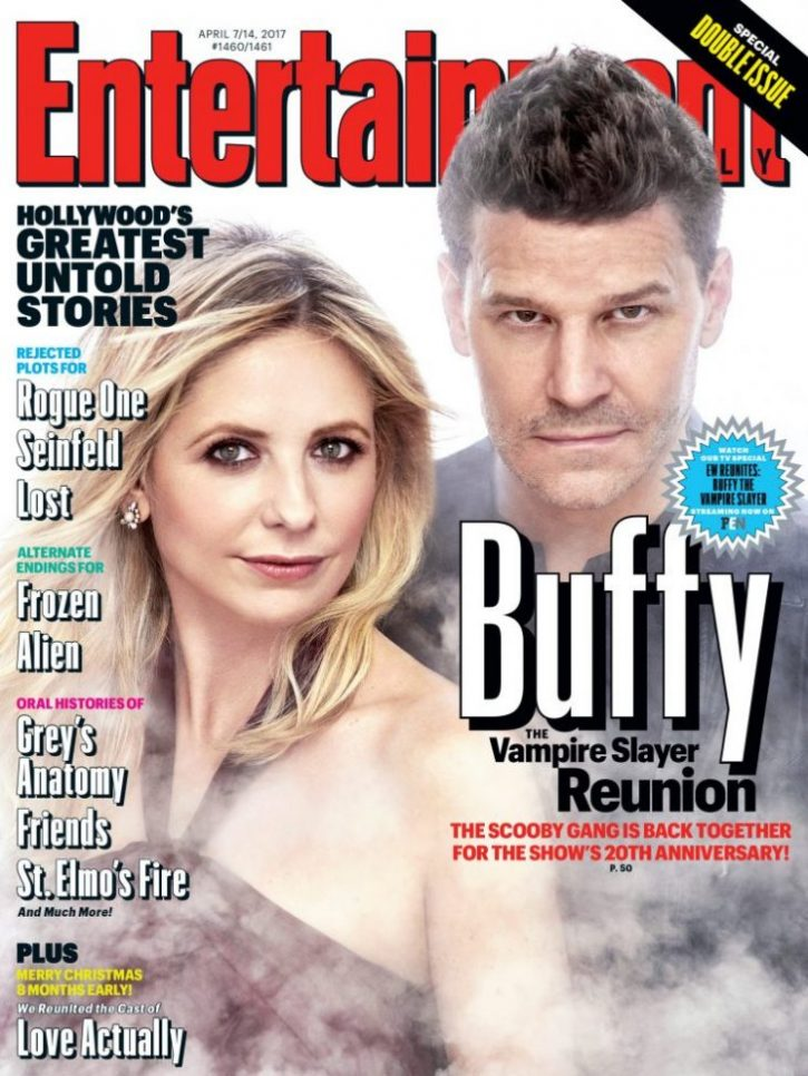 Buffy 20 years EW Cover