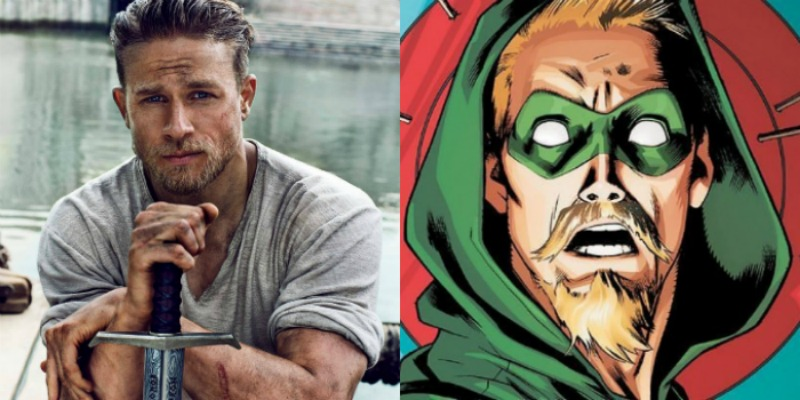 Charlie Hunnam is Really Not Interested in Playing Green Arrow