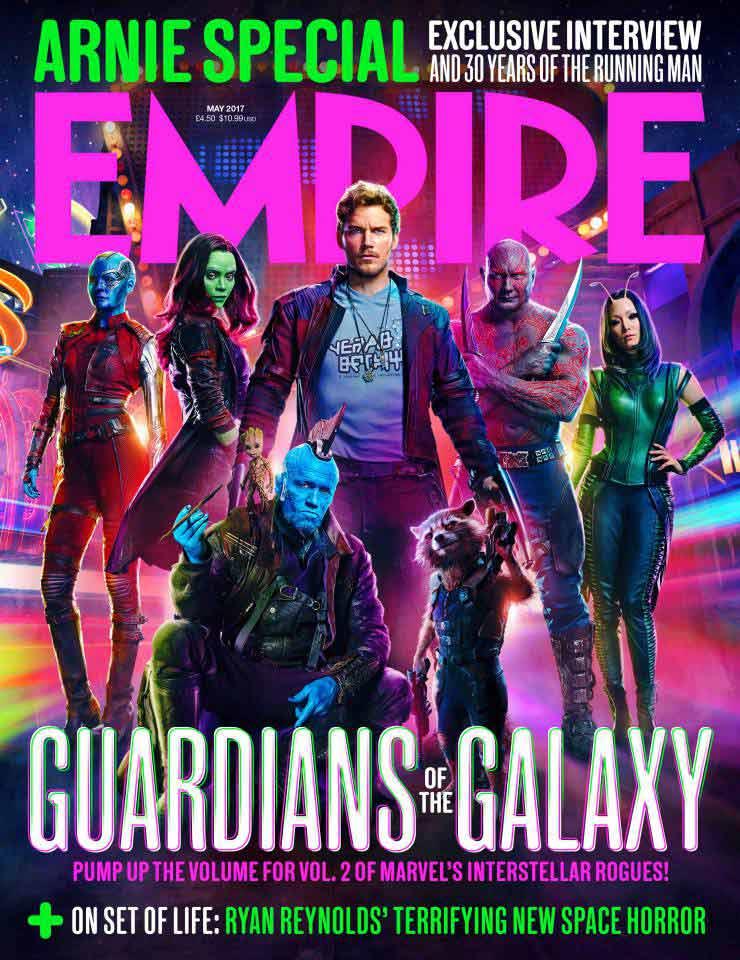 empire, guardians of the galaxy vol.2, guardians, guardians of the galaxy, star lord, gamora, groot, drax, rocket, mantis, yondu, nebula, marvel, disney, marvel studios, chris pratt