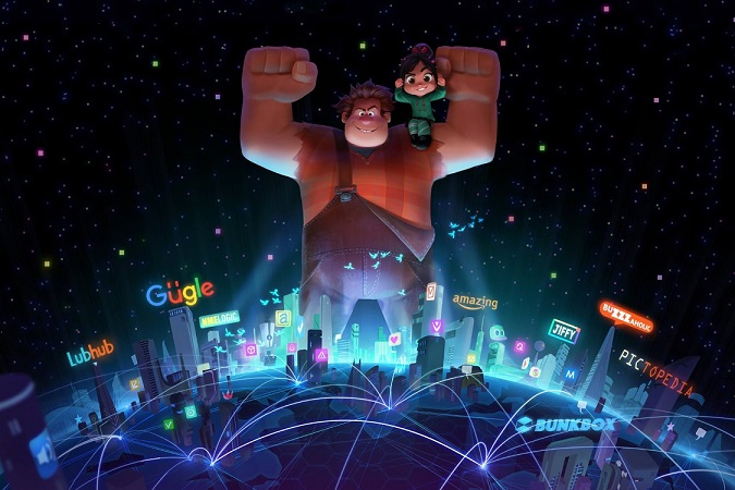 New Poster and Teaser for Wreck-It Ralph 2: Ralph Breaks the Internet