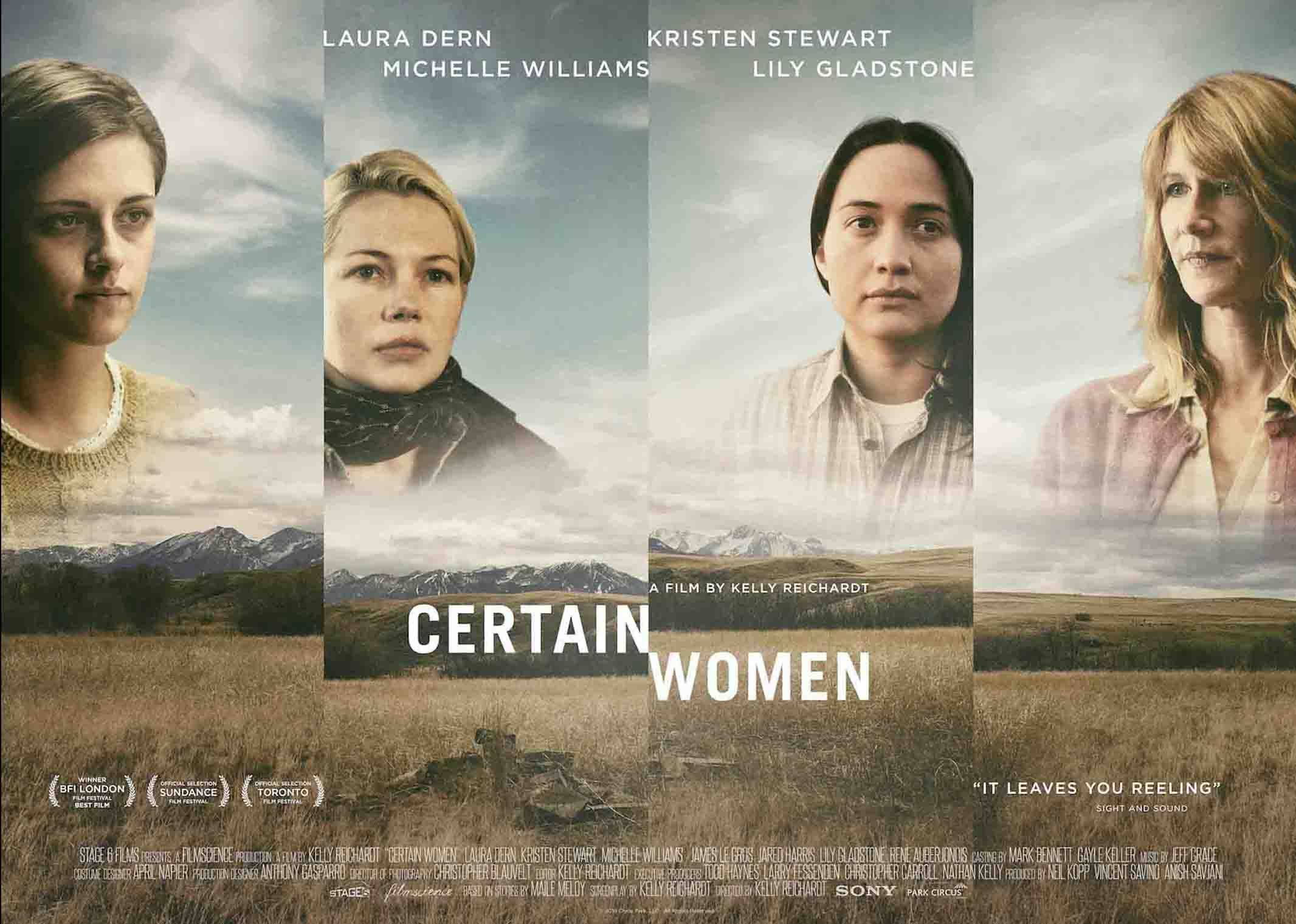 Exclusive: Director Kelly Reichardt on the Making of 'Certain Women'